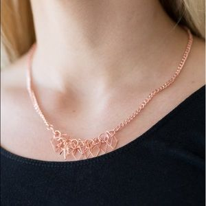 Jewelry - Beast Mode Copper Tone Necklace